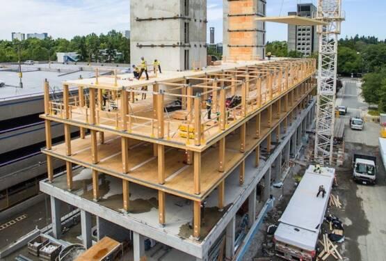 Città di Vancouver consente edifici in legno alti 12 piani